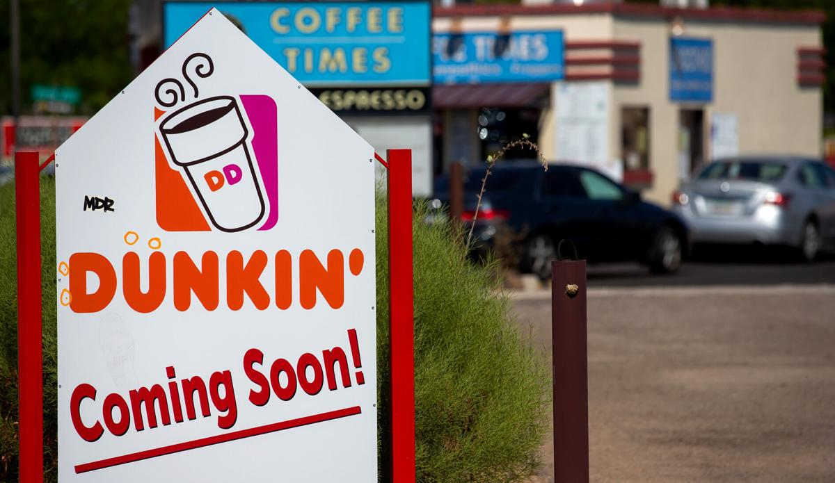"""Dunkin' Donuts """"Coming Soon"""""""