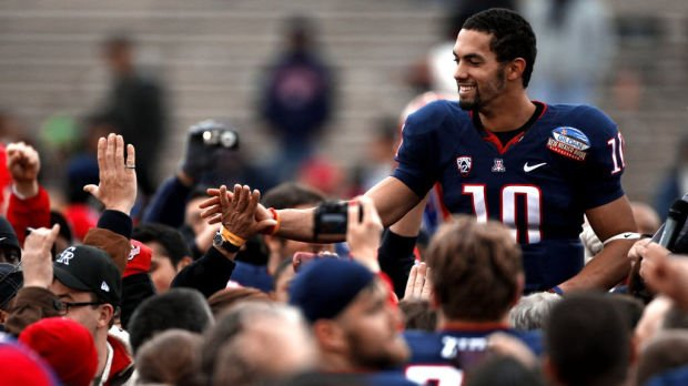 NFL draft: Unknown a year ago, Arizona QB Scott likely to be drafted this week
