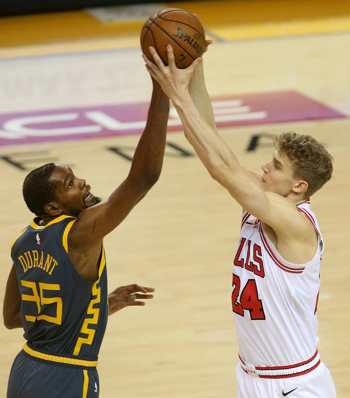 Golden State Warriors vs. Chicago Bulls NBA basketball