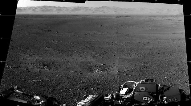 Mars' crater area looks like California's Mojave Desert