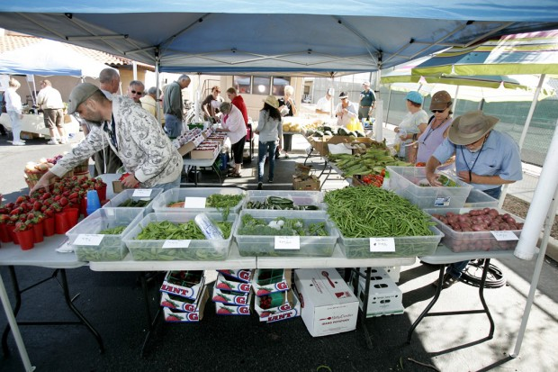 Market springs to life at RV resort