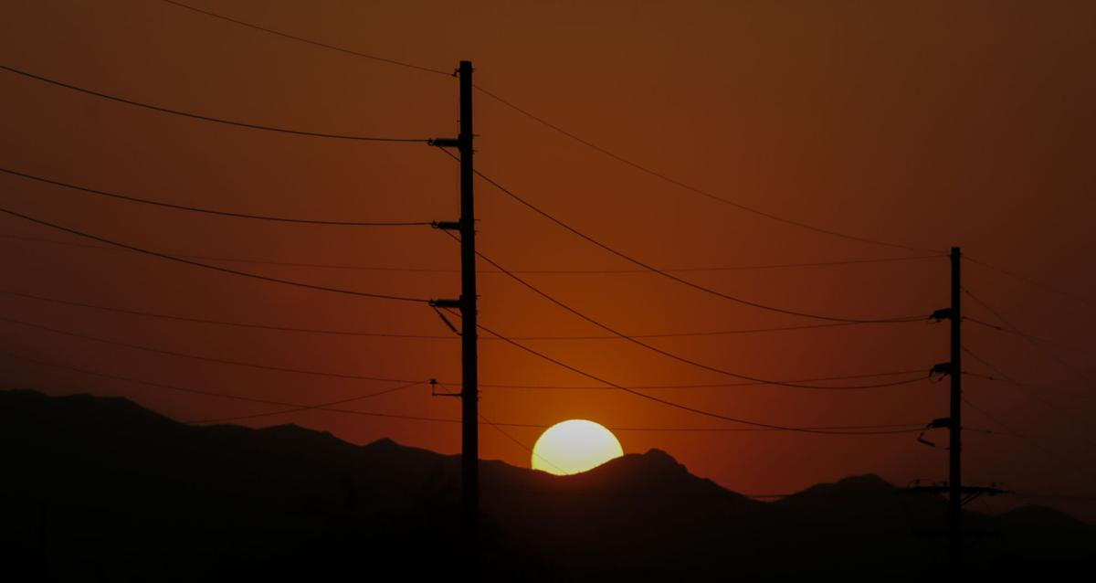 Power lines, Tucson Electric Power