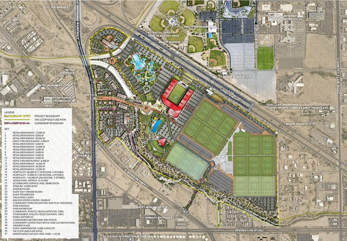 Kino Sports Complex expansion