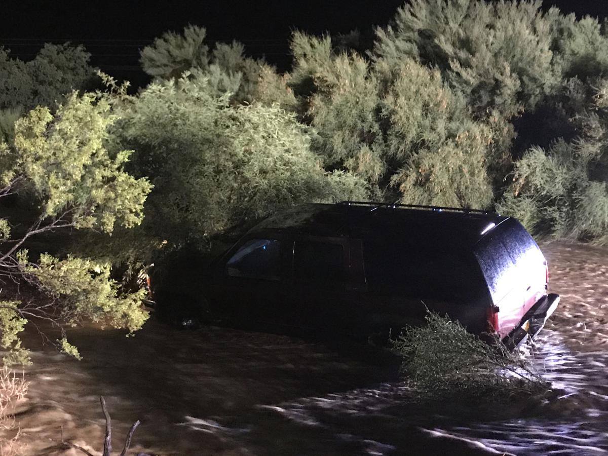Northwest Fire swift water unit rescues driver