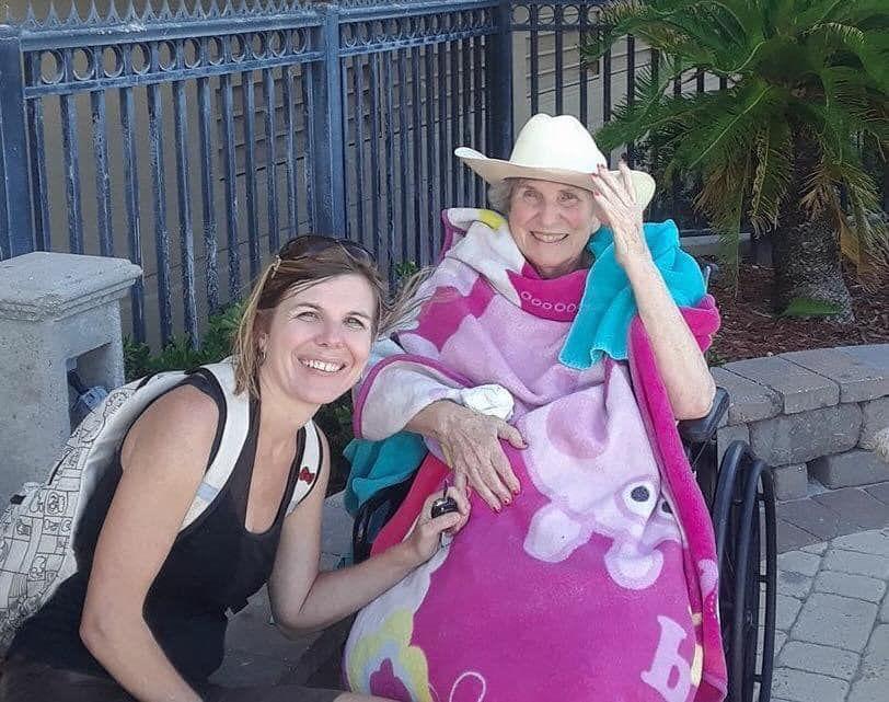 Erica McFadden and mom Lois