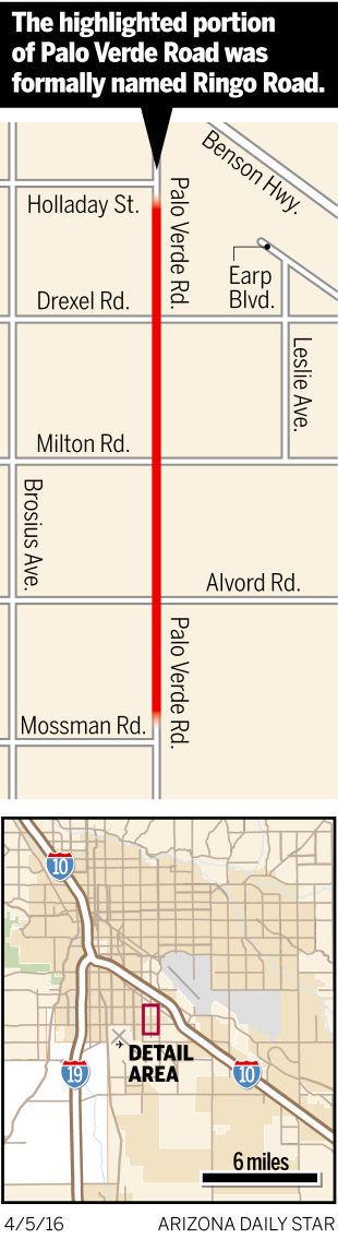 Map of Ringo Road