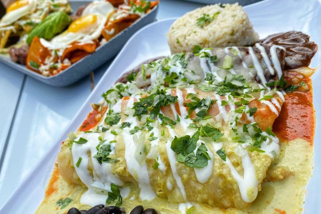 La Chingada enchiladas