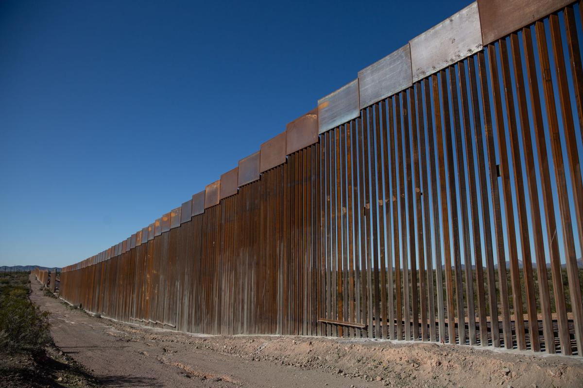 Border wall details