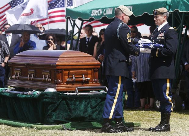Funeral for Command Sgt. Maj. Martin Barreras