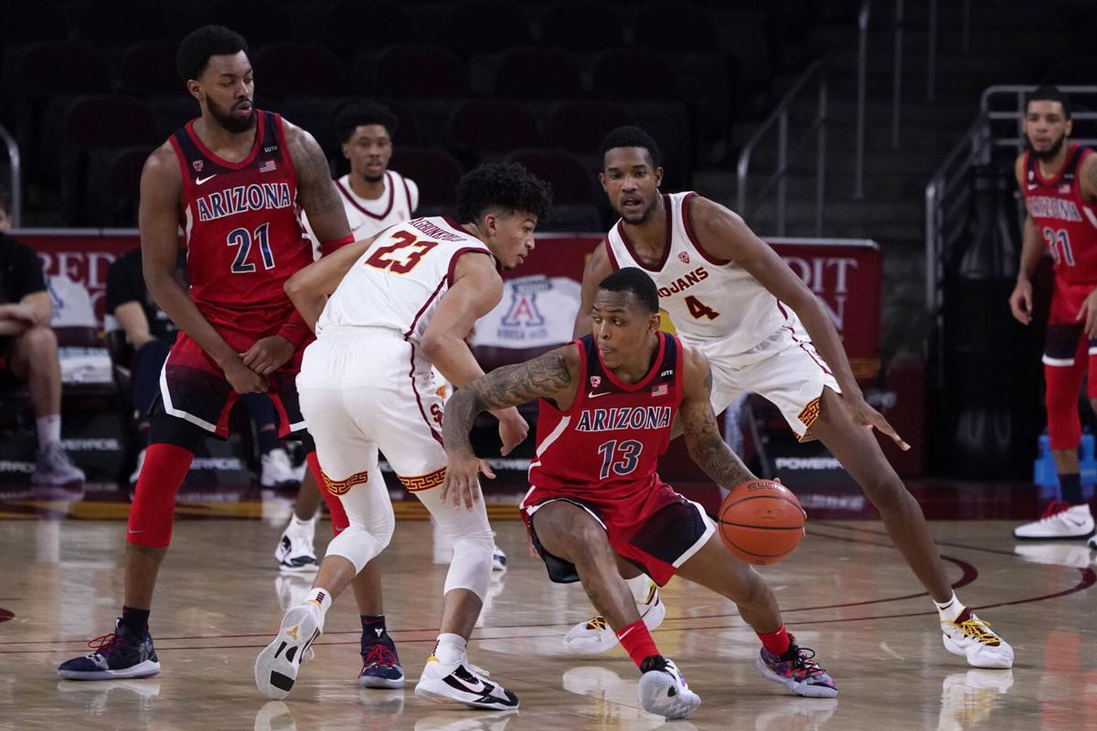 Arizona USC Basketball