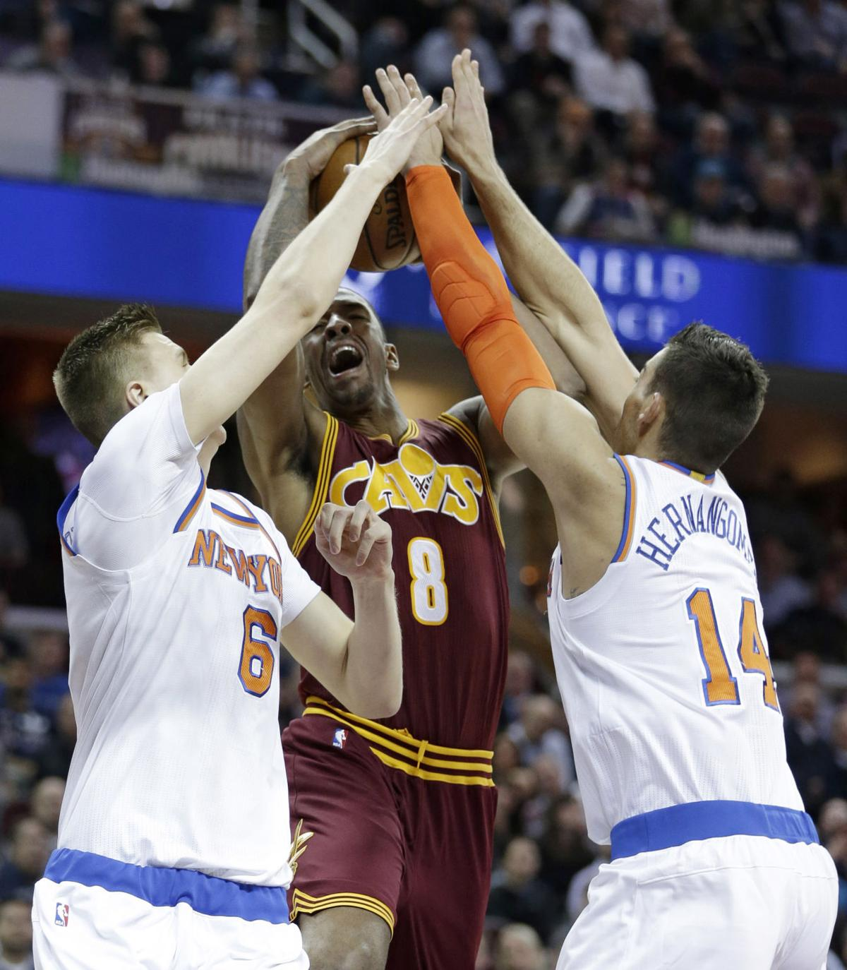 Ex-Wildcat watch: 'Cleveland Cats' combine for 38 points as Cavs beat Knicks 119-104 | Wildcats ...