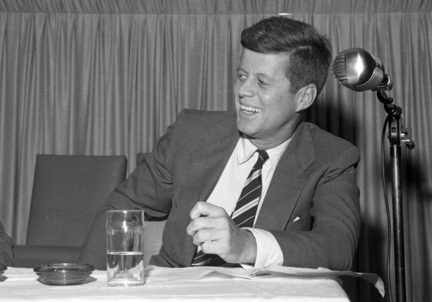 Kennedy-Johnson presidential campaign in 1960