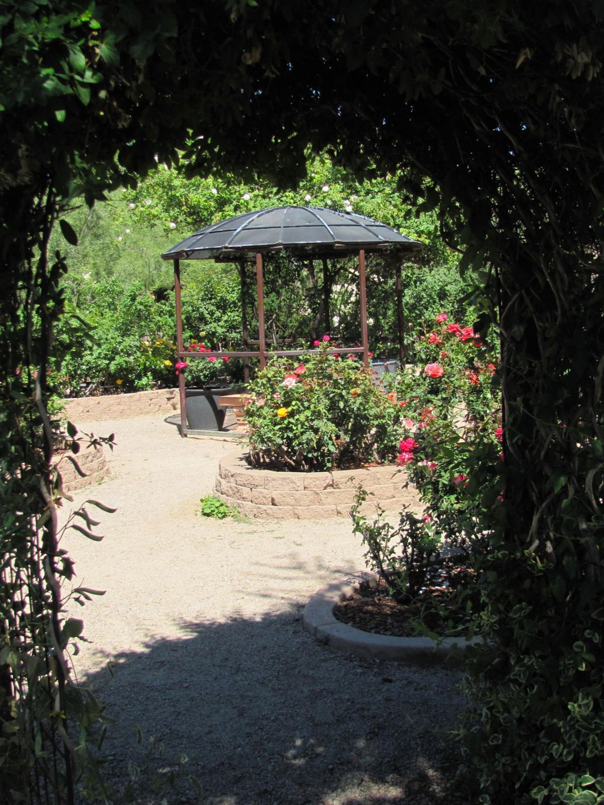 Inviting gardens