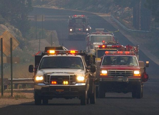 The Aspen Fire in 2003