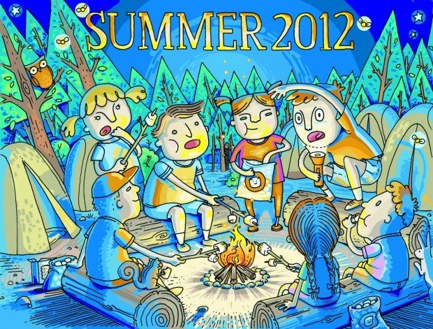 2012 Summer Activities Guide cover