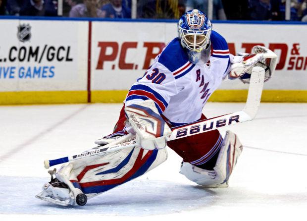 NHL: Rangers' Lundqvist wins goalie duel with Nabokov