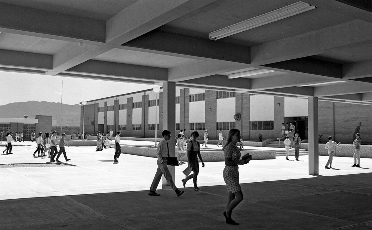 Sahuaro High School in 1968