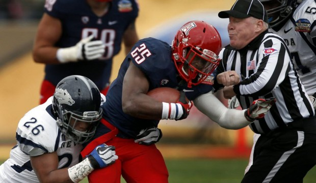 Arizona football notebook: Carey has fitting finale