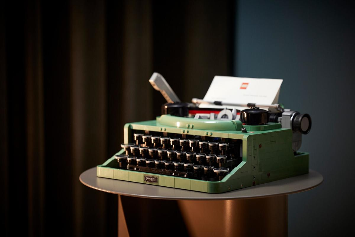 LEGO gets nostalgic with 2,000-piece classic typewriter -- complete with moving keys and carriage