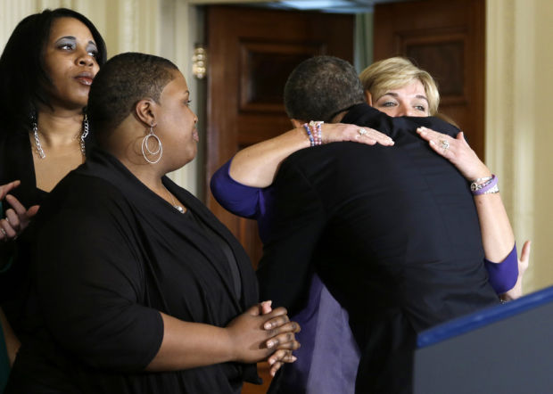 Obama: Don't 'get squishy' on gun curbs