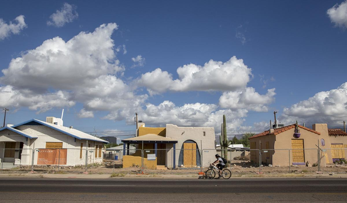 Road Runner: 7 bungalows on Broadway to be moved back as widening work inches along