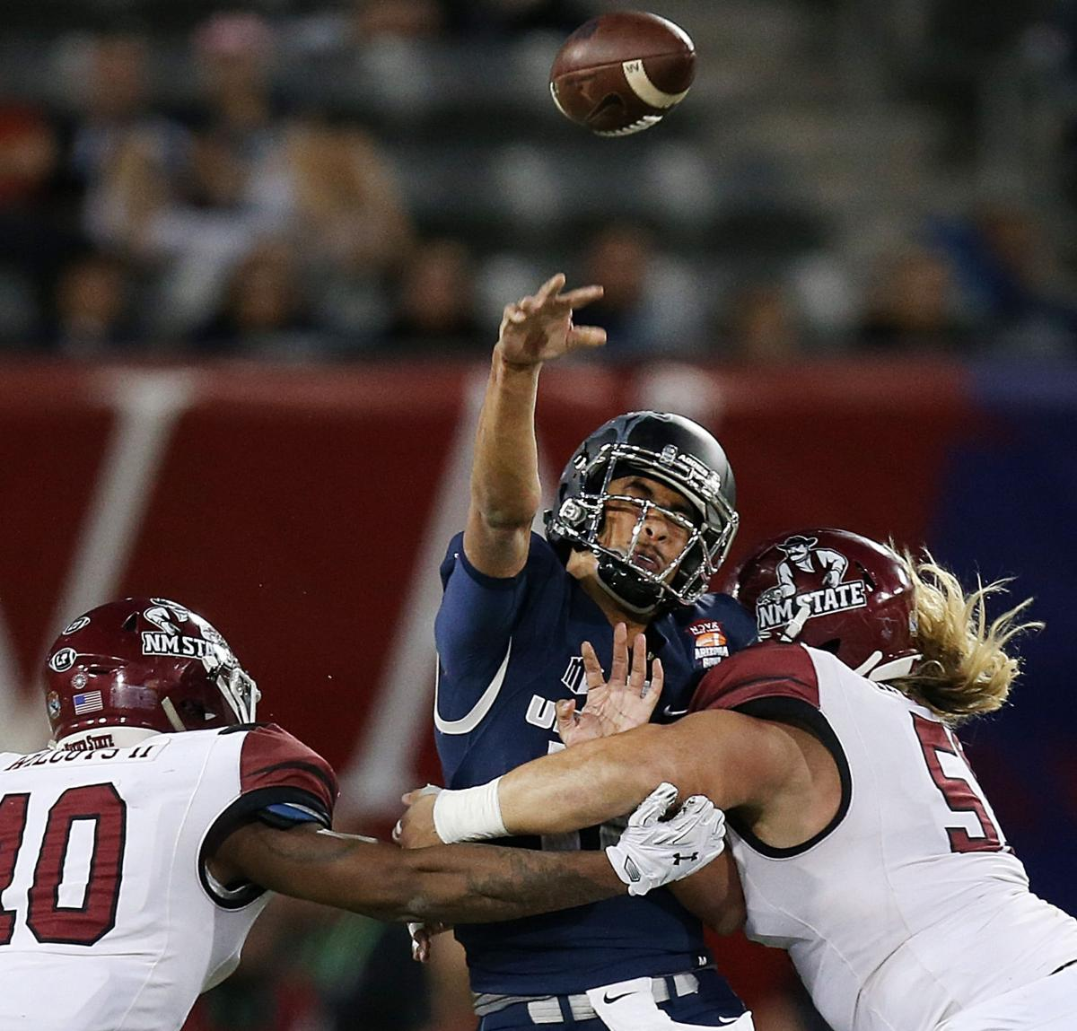 New Mexico State 26, Utah State 20