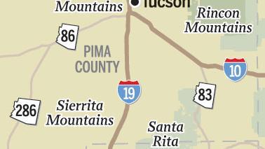News 4 Tucson >> Map: Mountain ranges near Tucson | | tucson.com