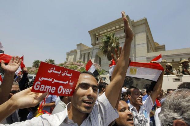Egypt's interim president sworn in amid crackdown on Muslim Brotherhood