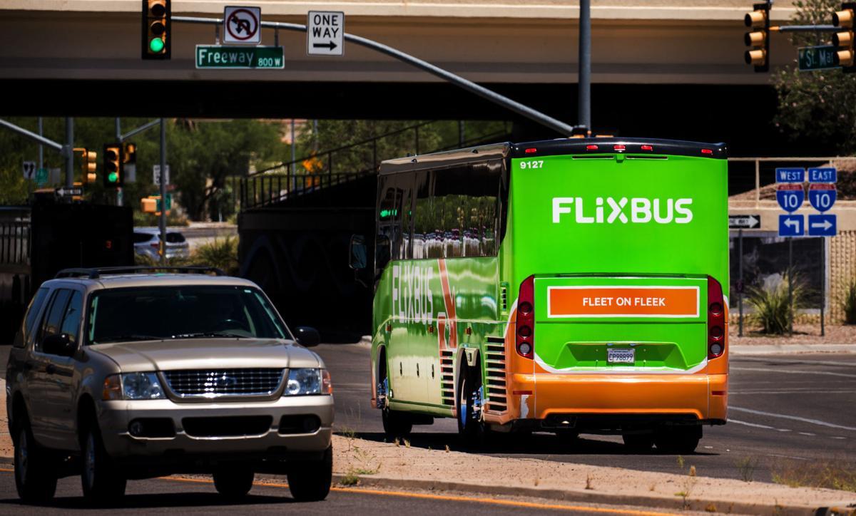 Flixbus service in Tucson
