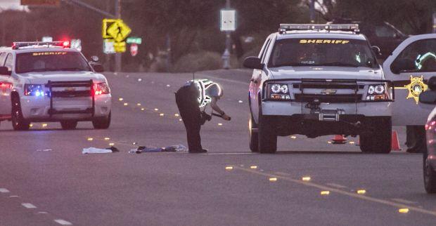 Scene of fatal accident