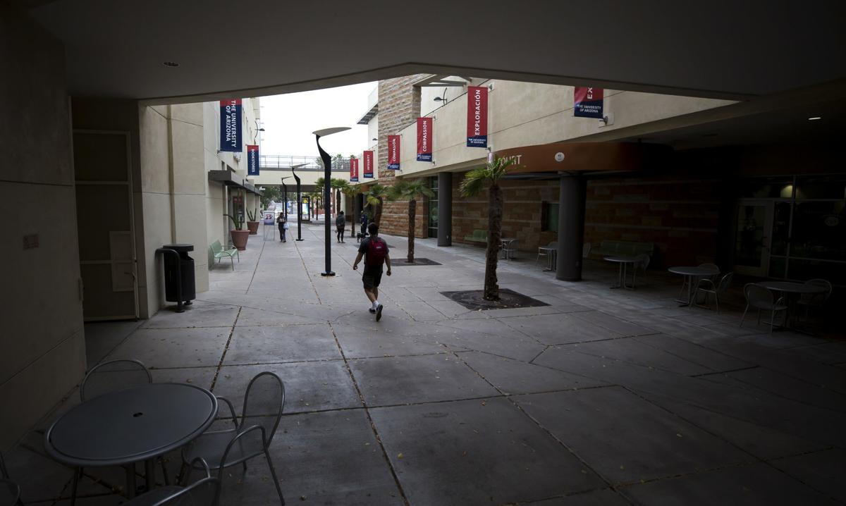 UA campus, COVID-19 (LE)