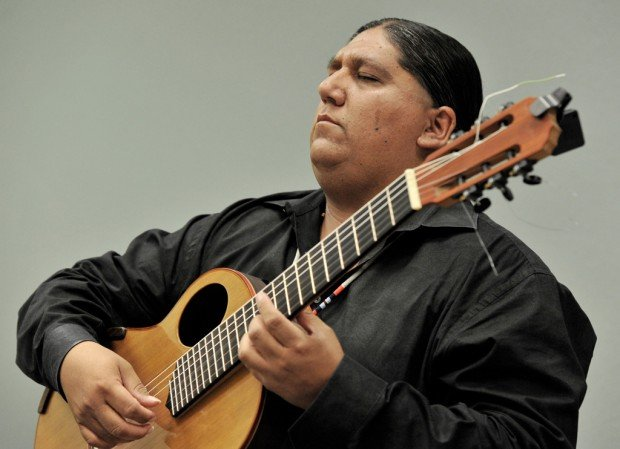 Yaqui guitarist Ayala going to Rome for canonization of Native woman