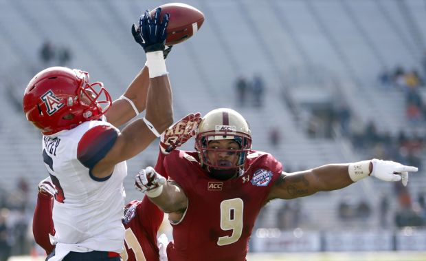 University of Arizona vs Boston College AdvoCare V100 Bowl