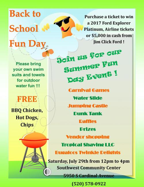 Tucson Children And Teen Activities July 27 Aug 4 Entertainment