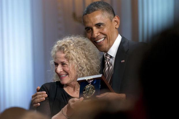Singer-songwriter Carole King wins Gershwin honor