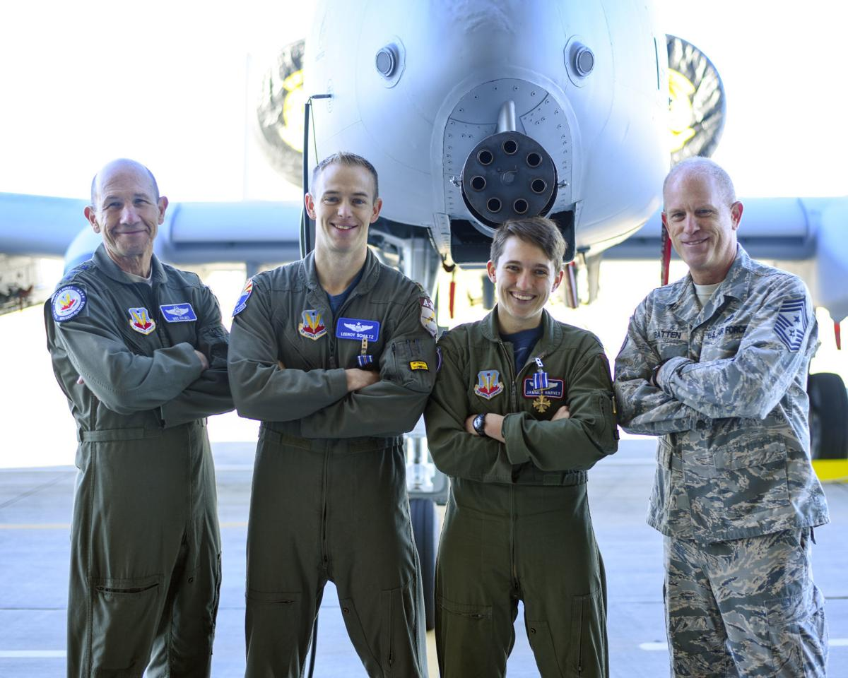 D-M pilots receive Distinguished Flying Cross