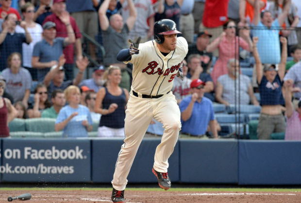 Game of the day: Braves 6, Giants 5: Upton, Freeman work closer for walk-off win