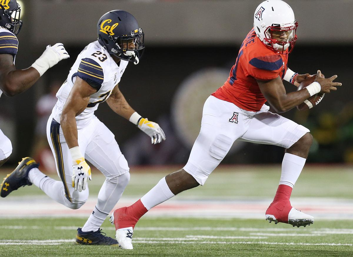 Arizona Wildcats vs. Cal Golden Bears college football (copy)