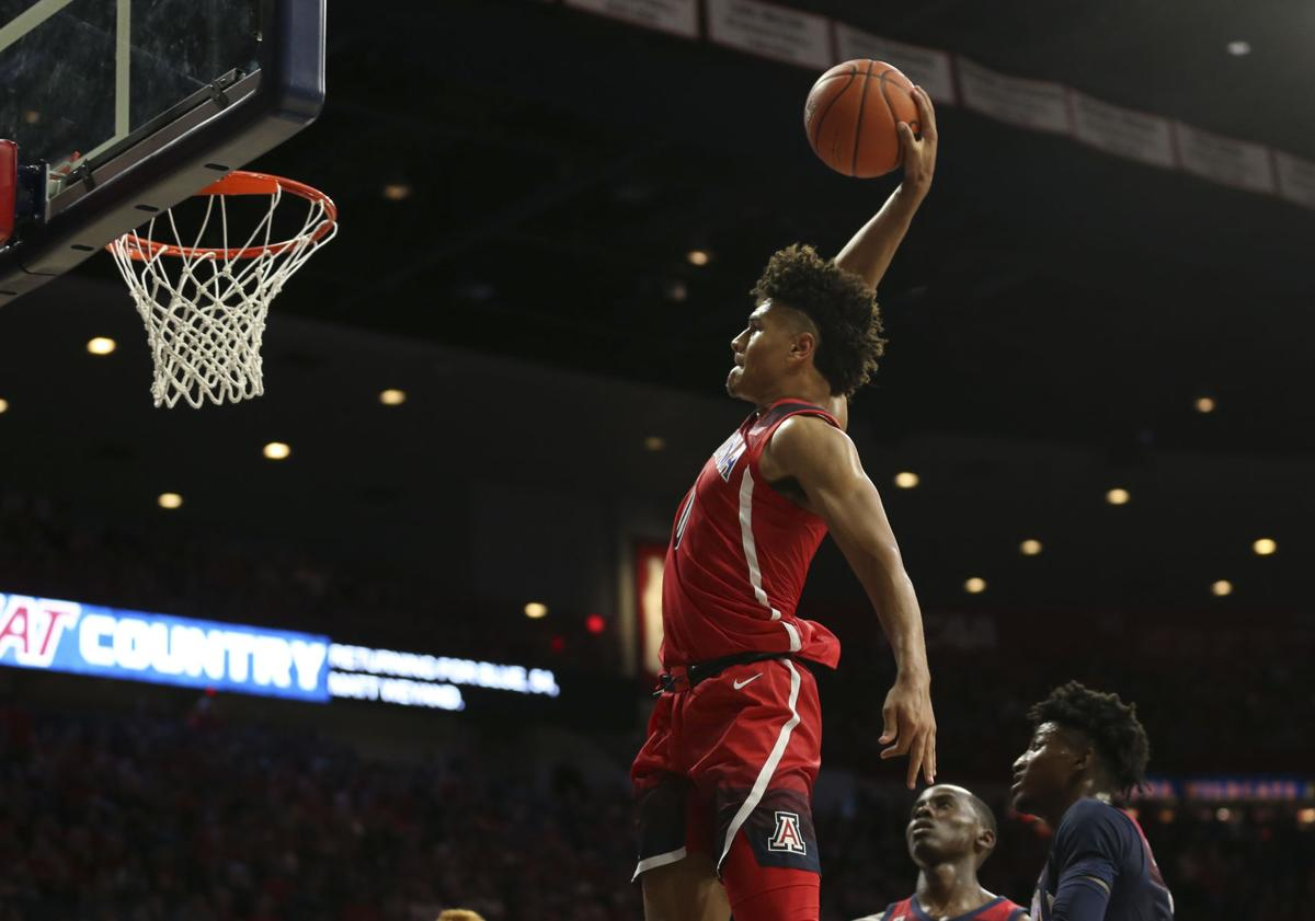 Arizona's Josh Green named to Julius Erving watch list for top college small forward
