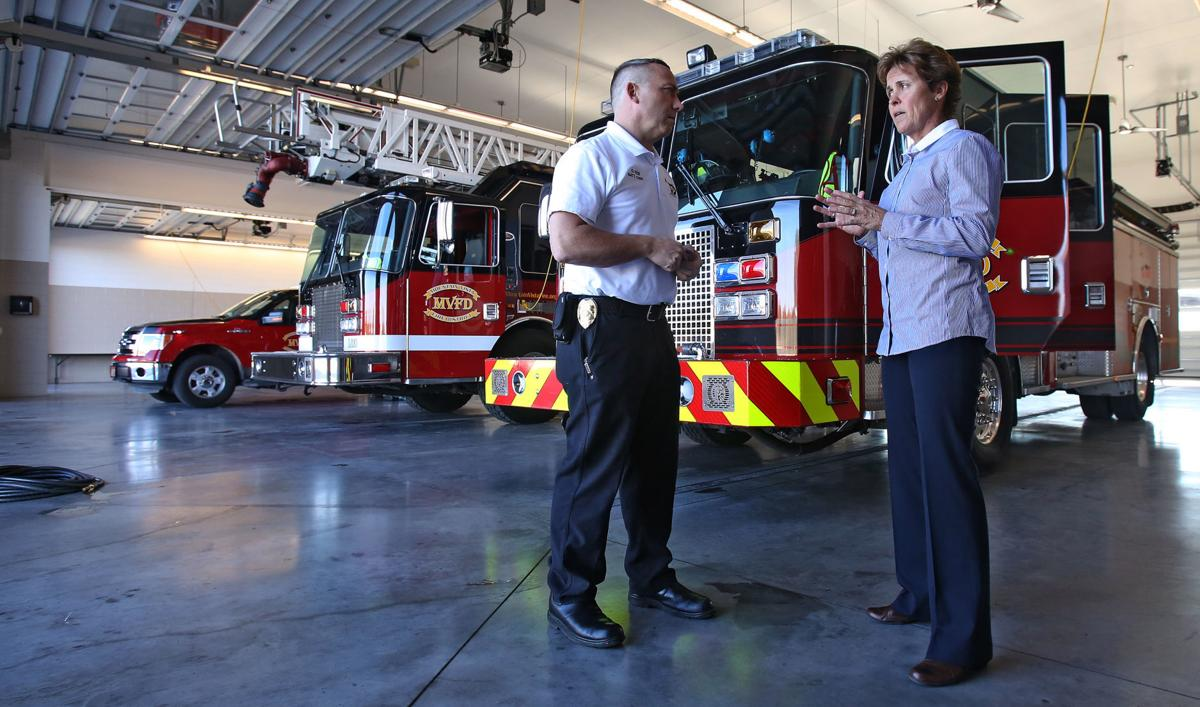 Mountain Vista Fire District Chief Cheryl Horvath
