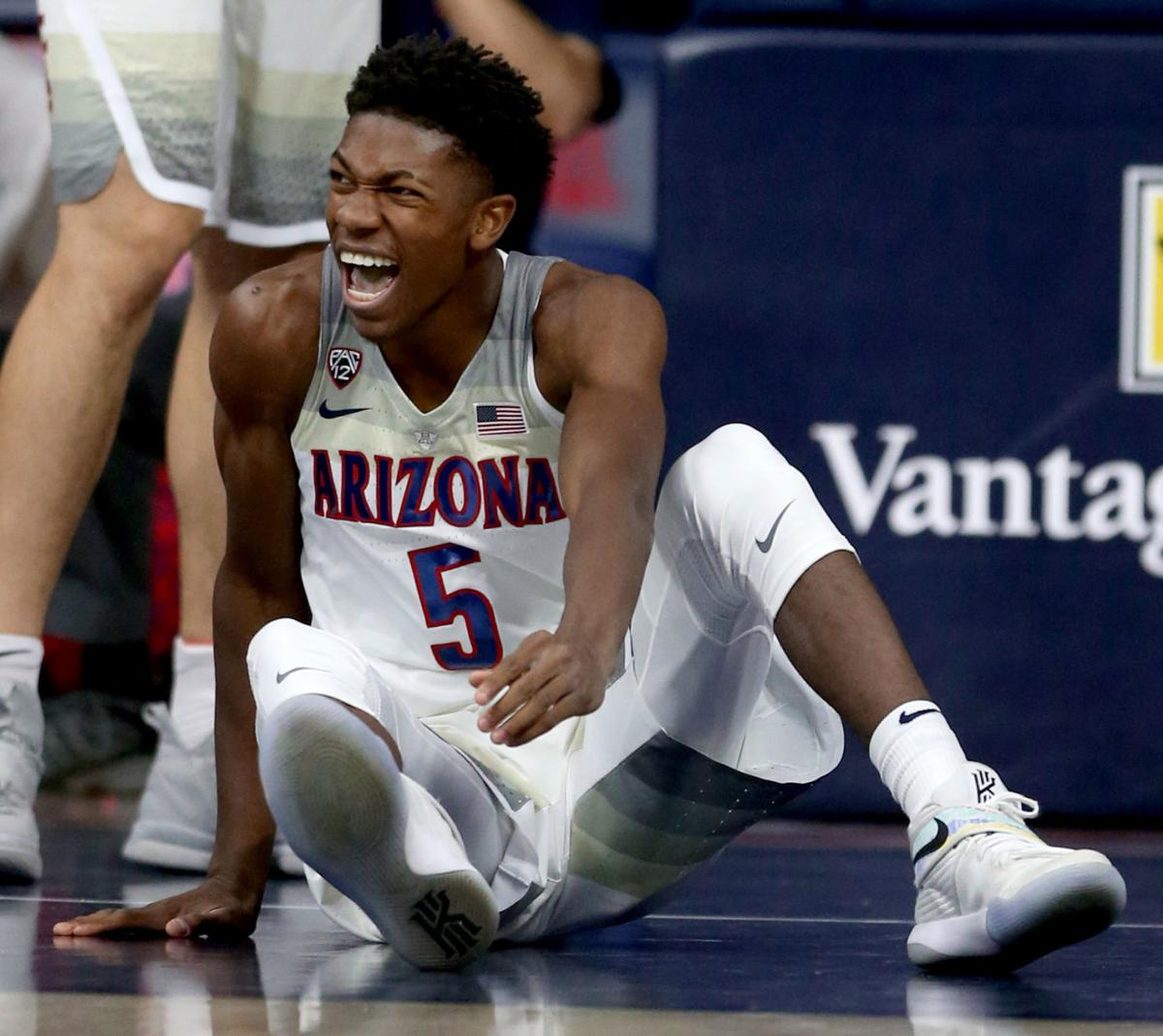 Wildcats guard Brandon Randolph says he learned from Allonzo Trier s ... 6fd5b6340