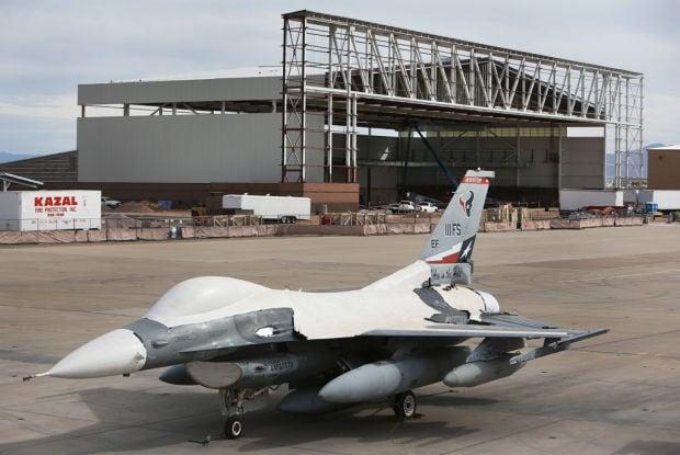 AMARG's new aircraft maintenance hangar