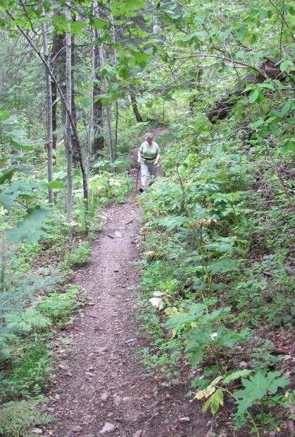 Trail's world away from desert heat