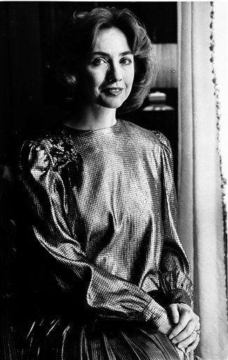 hillary rodham clinton 1985