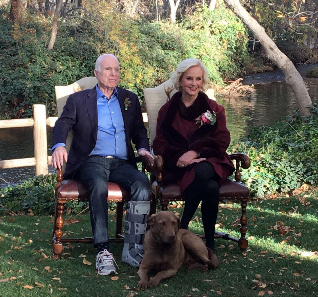 Meghan Mccain Marries Ben Domenech In Arizona Ceremony: Birthday Tweet Shows New Photo Of Sen. John McCain And His