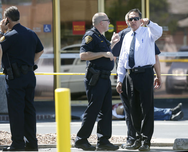 Officer-involved shooting at Tucson bank