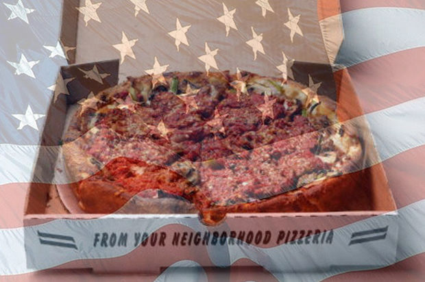 Pizza election night