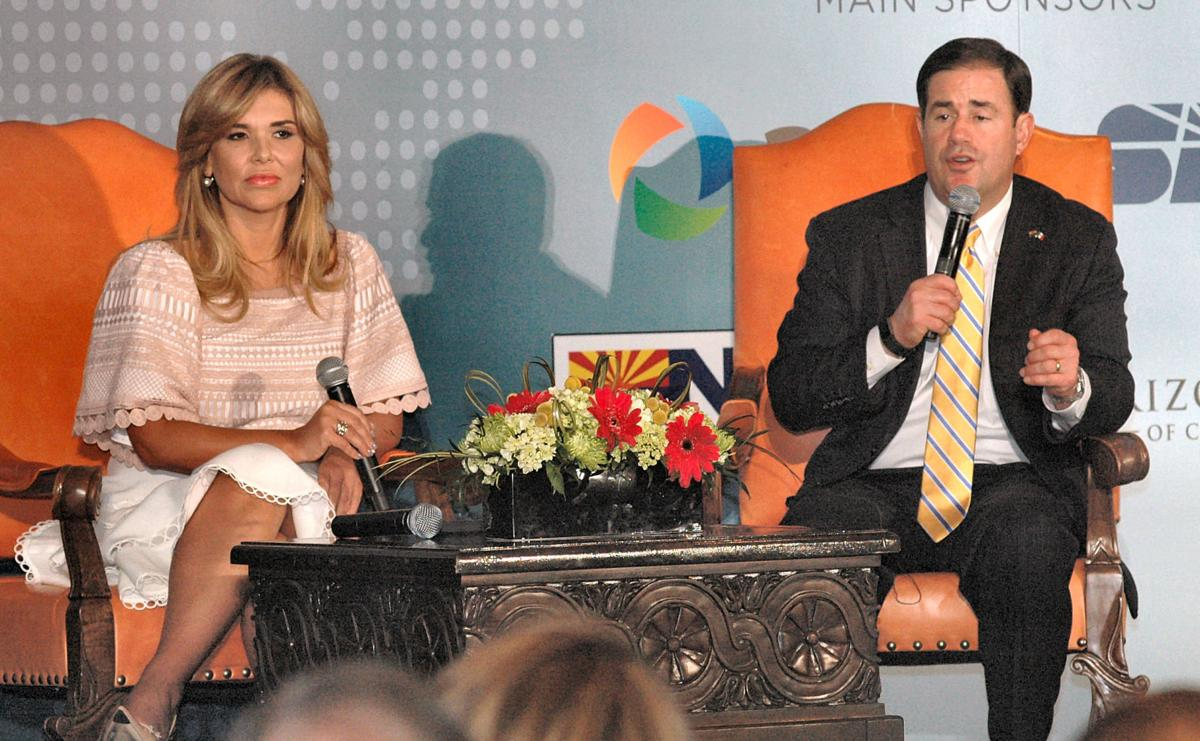 Ducey touts cross-border economic ties in meeting with Sonoran governor