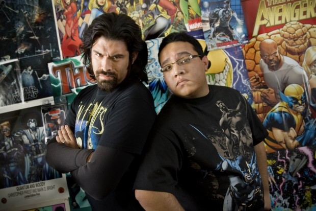 Meet superhero comic scribes