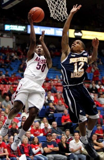 Arizona vs. Northern Arizona men's college basketball